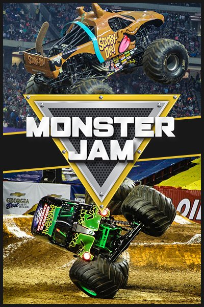 Monster Jam in Atlanta, Georgia - 2021
