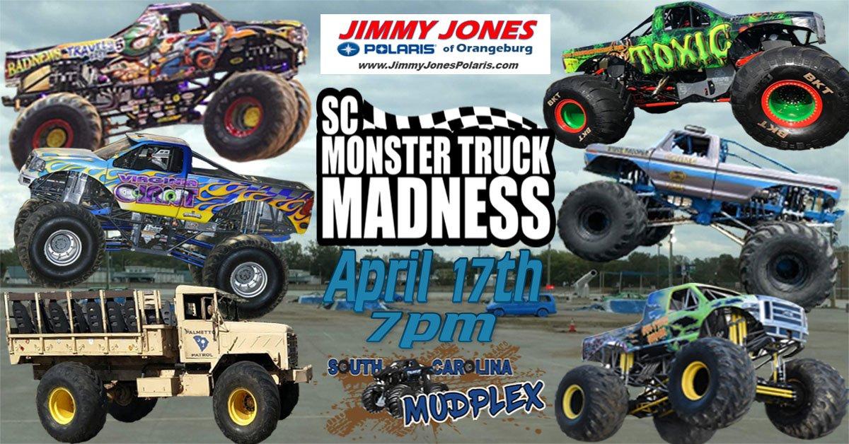 SC Monster Truck Madness in Neeses, SC - 2021