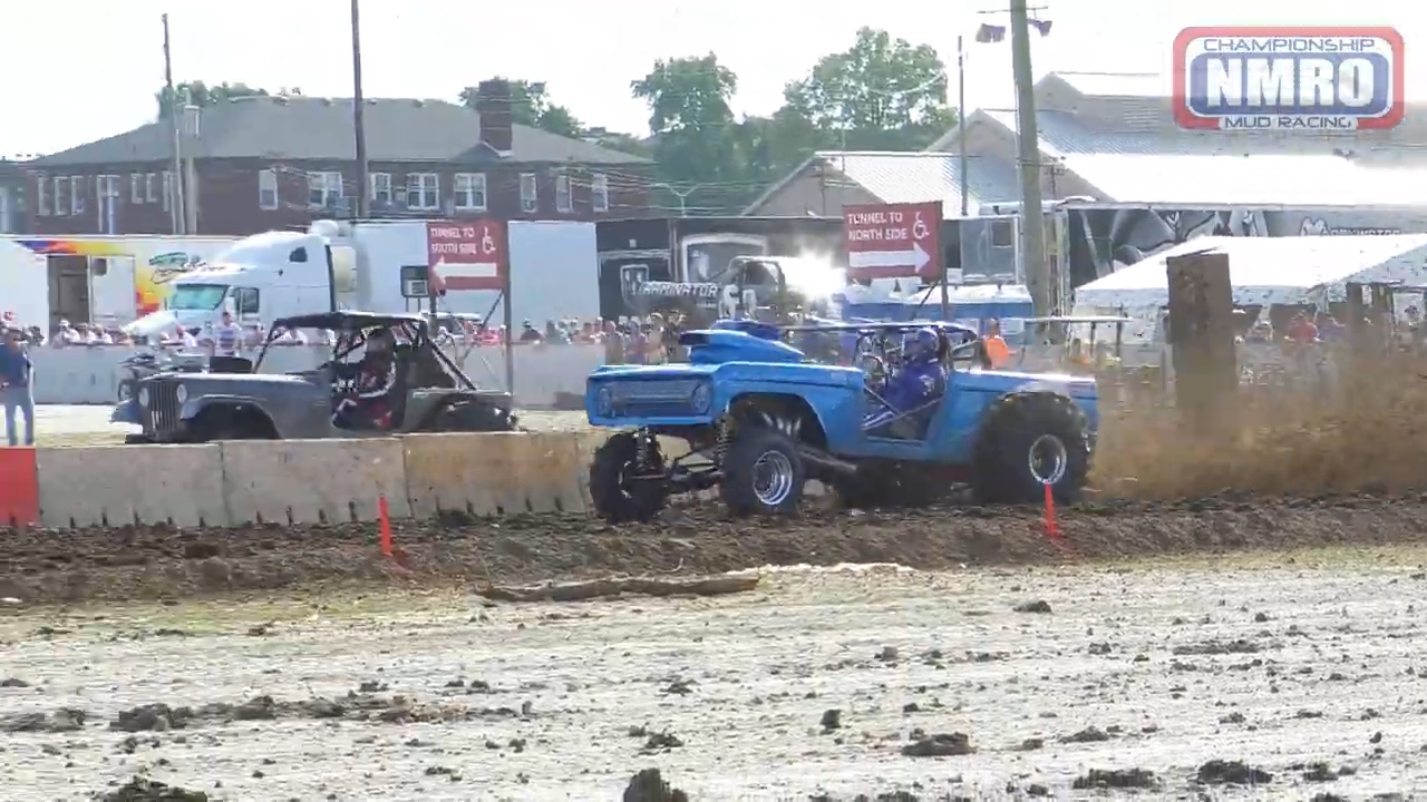 NMRO Class 4 Mud Drags from the 4-Wheel Jamboree Nationals in Indianapolis, IN - 2019