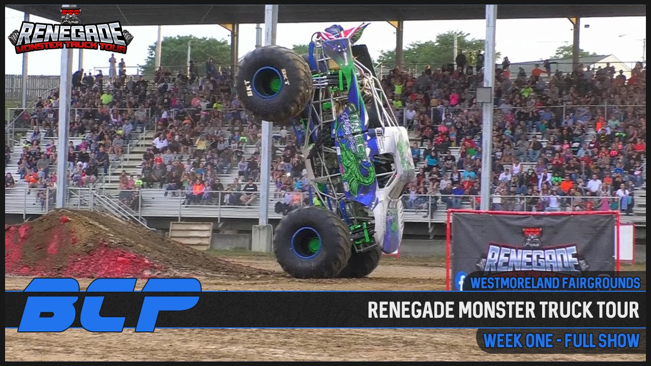 Renegade Monster Truck Tour - 2020