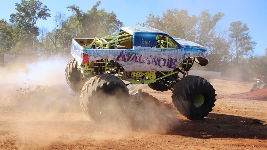 Monster Truckz at Boyd's Speedway