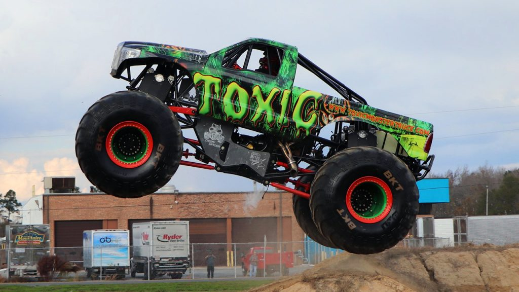 First Run of the Toxic 2.0 Monster Truck