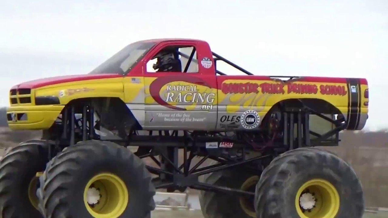Radical Racing Monster Truck Driving School