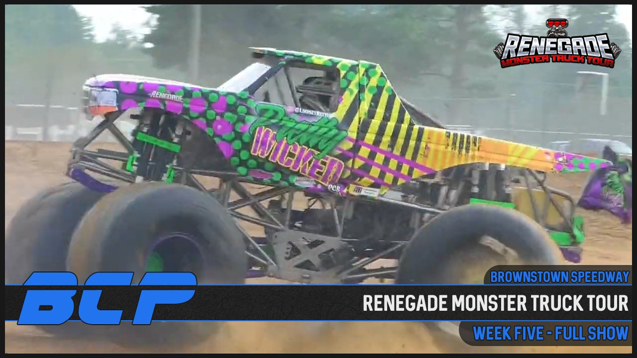 Renegade Monster Truck Tour from the Brownstown Speedway - 2020
