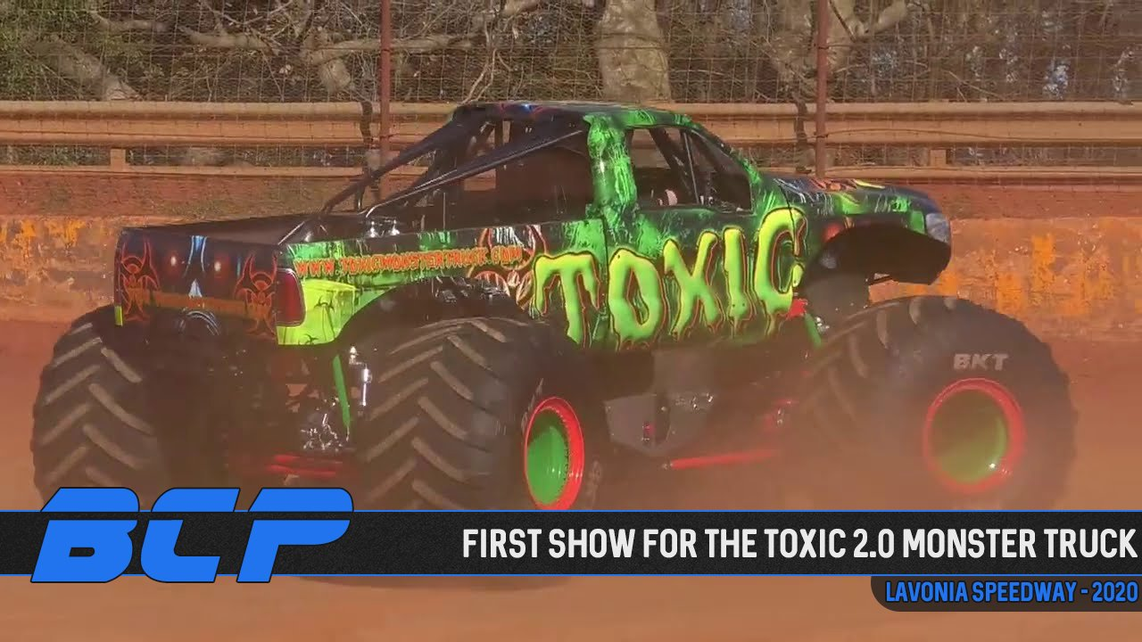 First Show for the Toxic 2.0 Monster Truck from the Lavonia Speedway - 2020