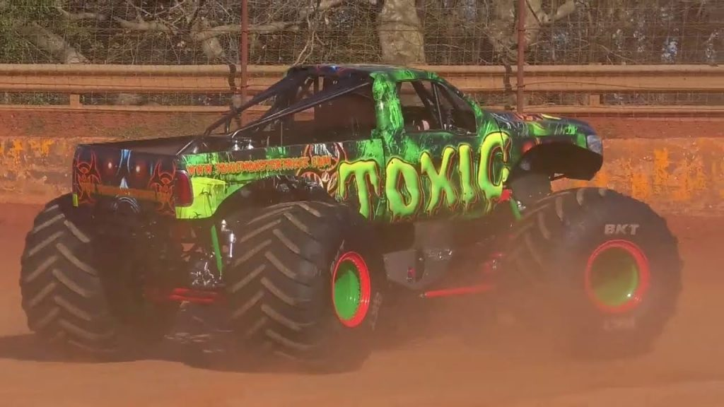 First Run for the Toxic 2.0 Monster Truck at the Lavonia Speedway in Lavonia, GA. - 2020