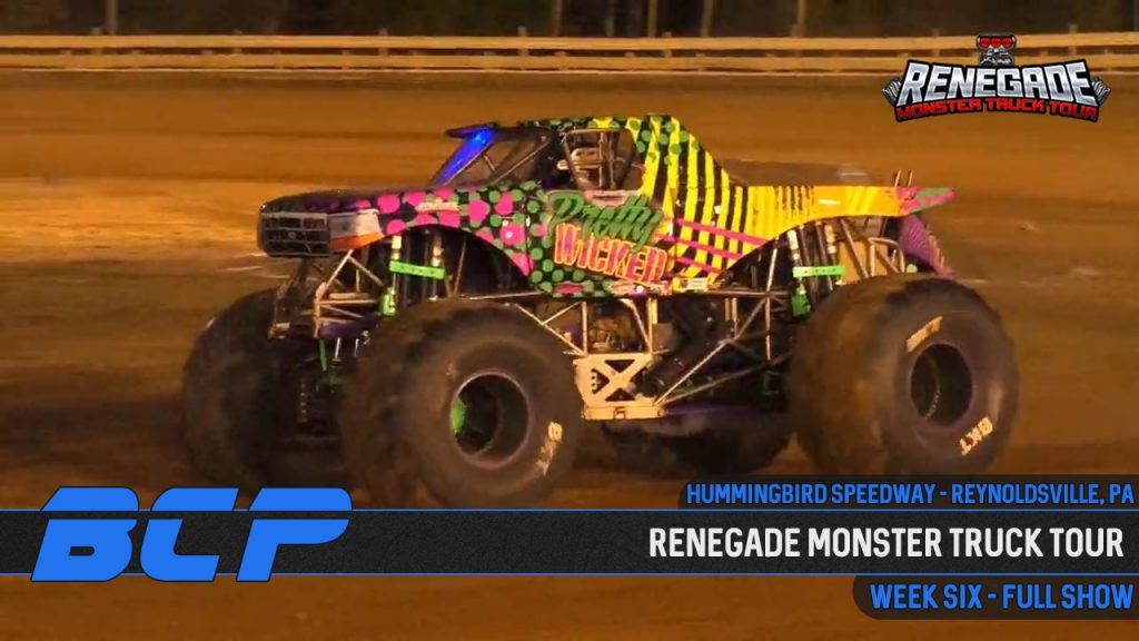 Renegade Monster Truck Tour from the Hummingbird Speedway - 2020