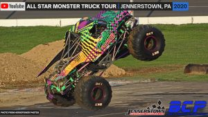 All Star Monster Truck Tour from the Jennerstown Speedway | 2020 – Full Show