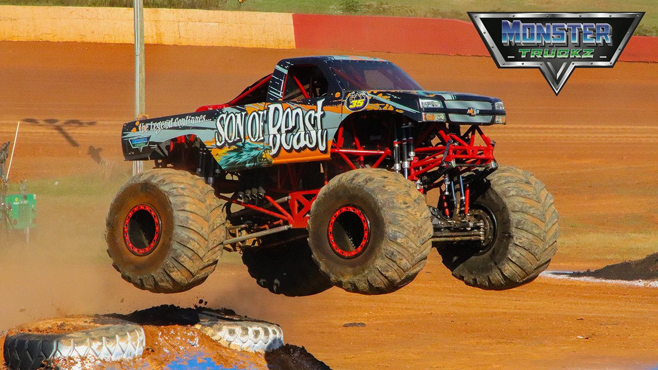 Monster Truckz at the Palm Beach International Raceway - 2021