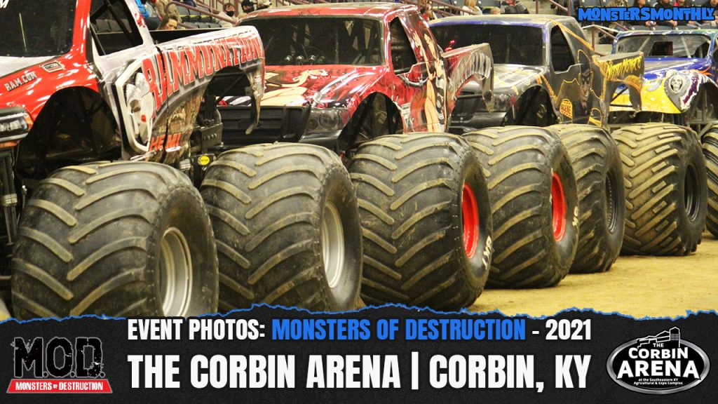 Monsters of Destruction | The Corbin Arena | 2021