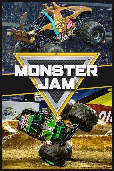 Monster Jam in Arlington, Texas -2021
