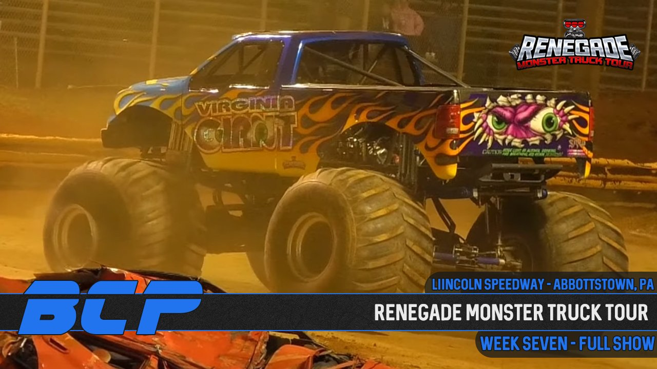 Renegade Monster Truck Tour 2020 | Week 7: Abbottstown, PA - 2020