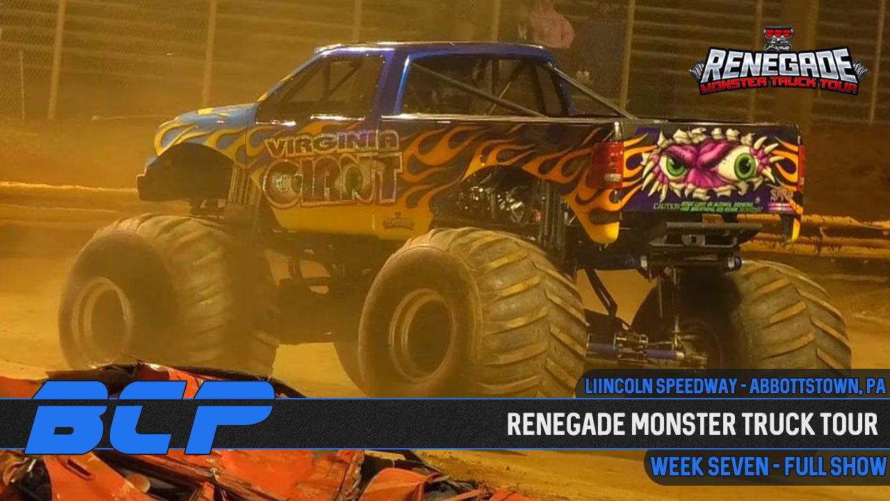 Renegade Monster Truck Tour 2020 | Week 7: Abbottstown, PA - 2020