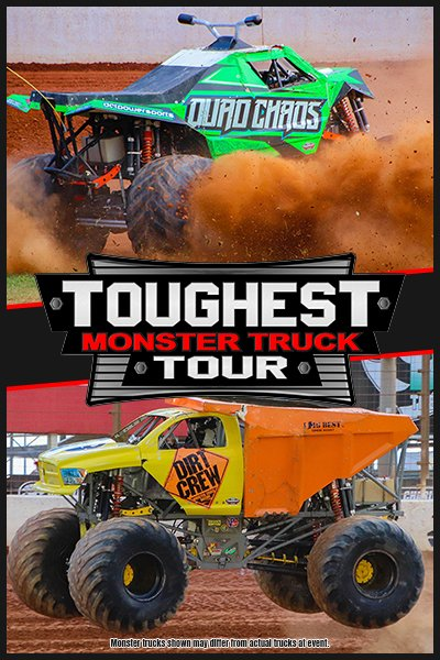 The Toughest Monster Truck Tour Invades the Ford Wyoming Center - 2021
