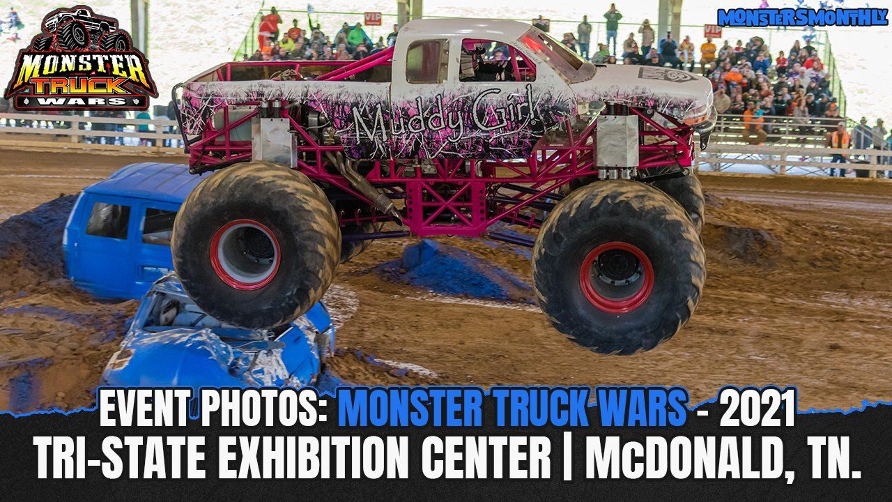 Monster Truck Wars from the Tri State Exhibition Center - 2021