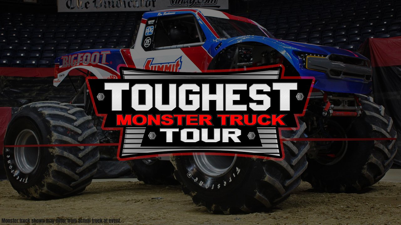 The Toughest Monster Truck Tour Invades the Cable Dahmer Arena - 2021