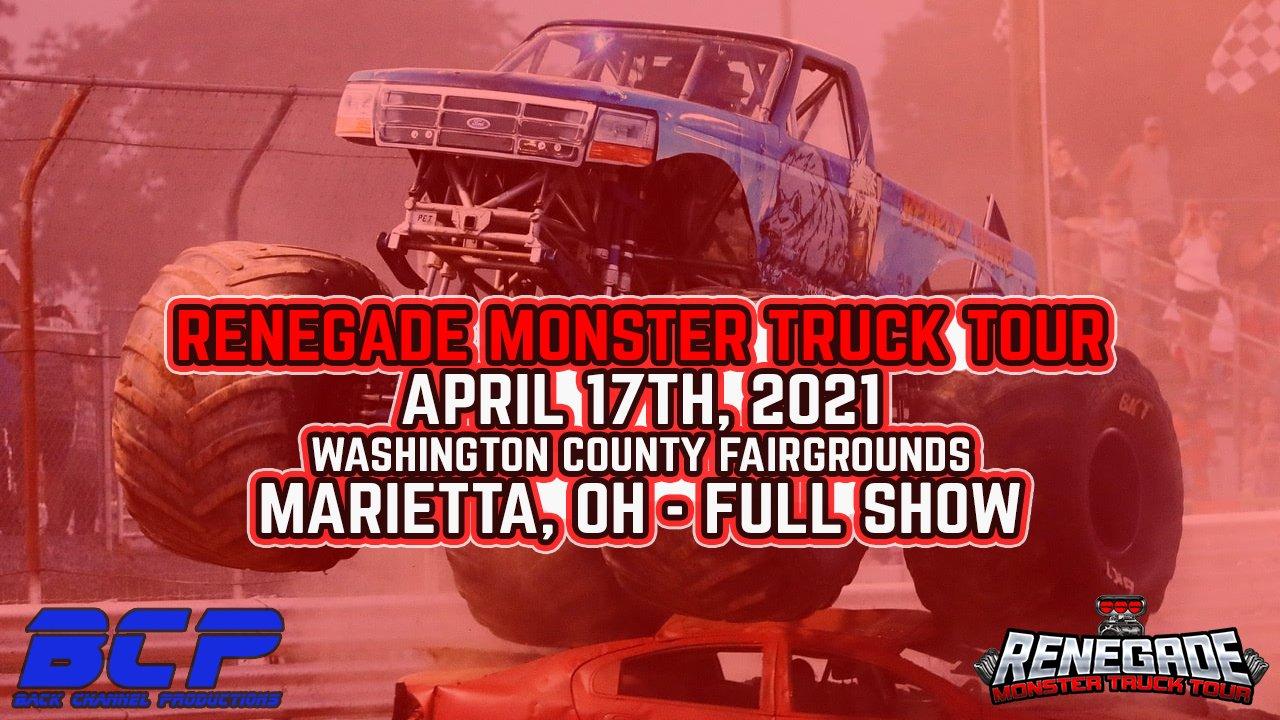 Renegade Monster Truck Tour from Marietta, OH - 2021