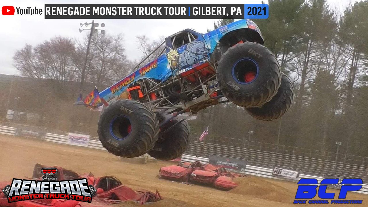 Renegade Monster Truck Tour - Gilbert, PA - 2021