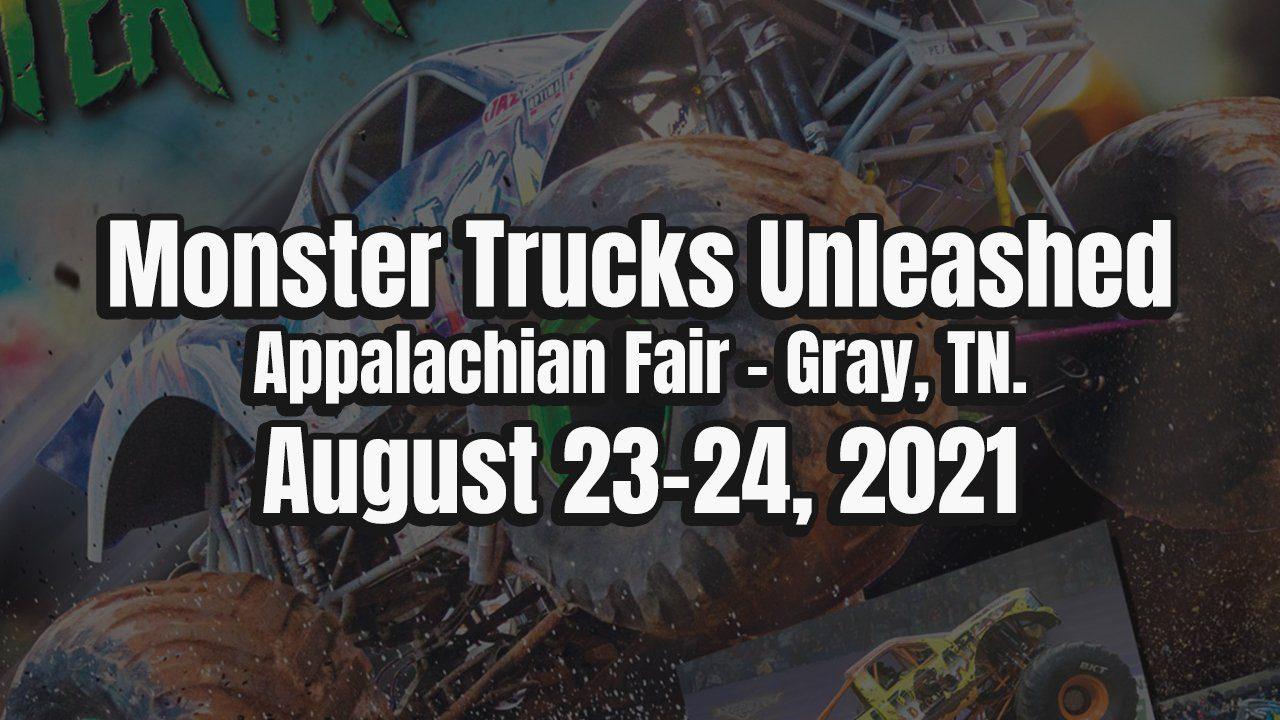 Monster Trucks Unleashed in Gray, TN - 2021