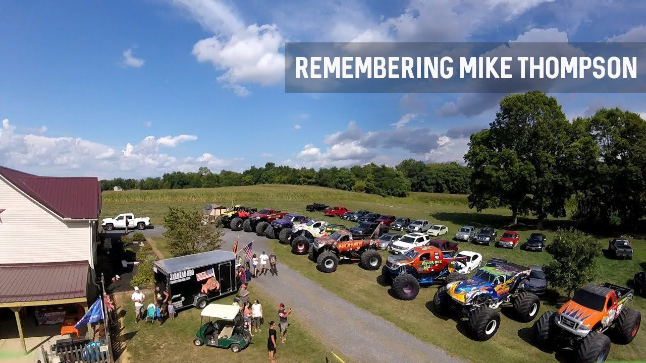 Vaters Motorsports Organizes Memorial for Monster Truck Driver Mike Thompson - 2020