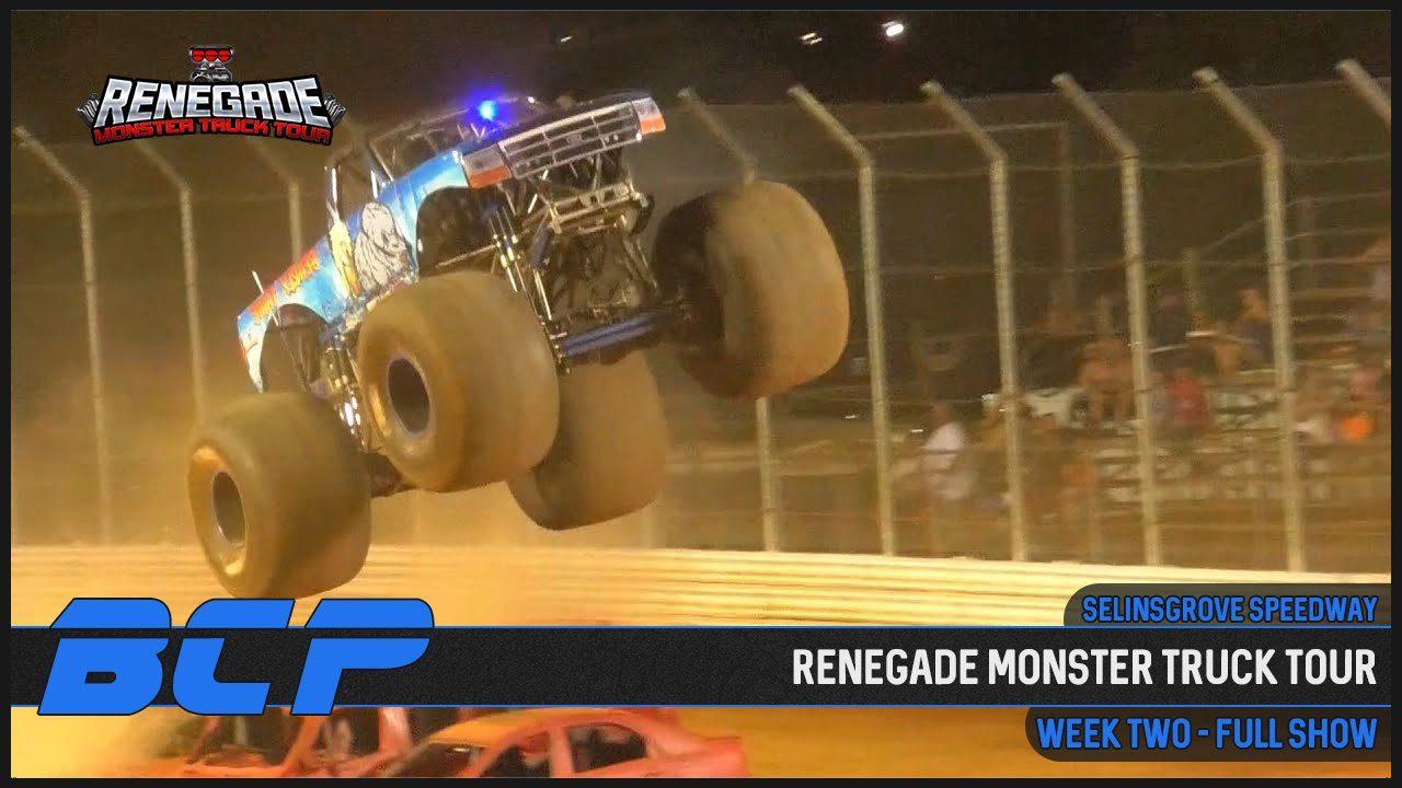 renegade monster truck tour selinsgrove speedway 2020