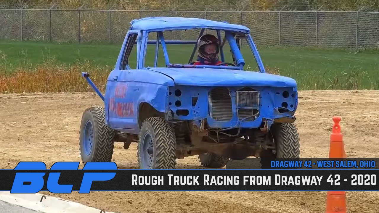 Rough Truck Racing from Dragway 42 in West Salem, Ohio - 2020