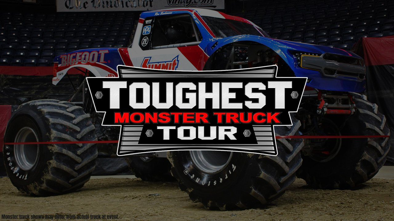 The Toughest Monster Truck Tour Invades The Tony's Pizza Events Center - 2021!